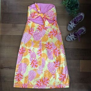 Lilly Pulitzer strapless A-Line summer dress